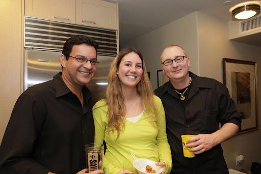 Tony, Melissa, and Wahkene