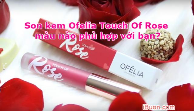 Son kem Ofelia Touch Of Rose của ChangMakeup màu nào phù hợp với bạn? + Hình 1