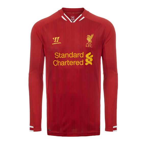Jual Jersey Home Liverpool Lengan Panjang 2014