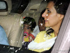 Akshay Kumar Daughter Nitara the eve of the 1st death Anniversary of late Rajesh Khanna at his Bandra Bungalow,,Mumbai, on 18/07/2013 PIC/SATYAJIT DESAI