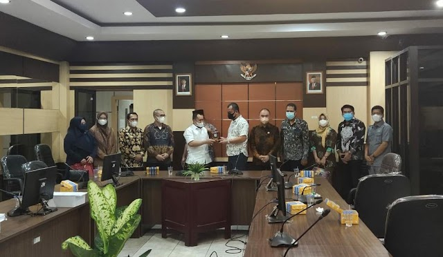 Legislatif Pulpis Pelajari Perda Rencana Pembangunan Industri dengan DPRD Banjar