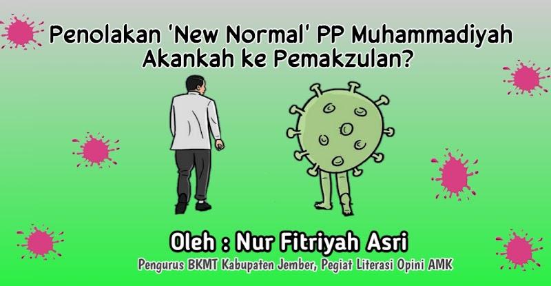 Penolakan 'New Normal' PP Muhammadiyah Akankah ke Pemakzulan?