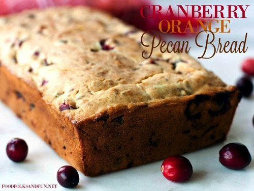 Cranberry-Orange-Pecan-Bread