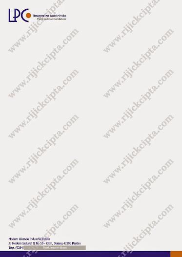 kop surat PT. Limaputra Contrindo, perusahaan Injection Plastic Moulding Di Serang Timur, Cikande