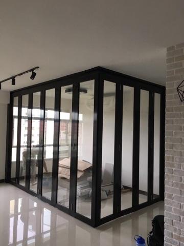 Wee Ping Aluminium Contractor L Shape Top Hang Track