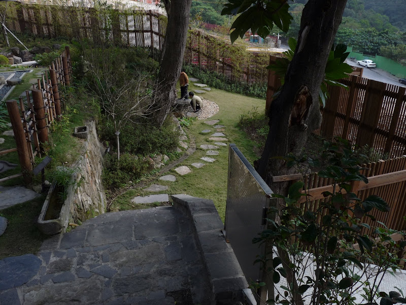 TAIWAN.Taipei .Maison japonaise vers Beitou et Musée National de Taipei à côté du Peace park - P1060306.JPG