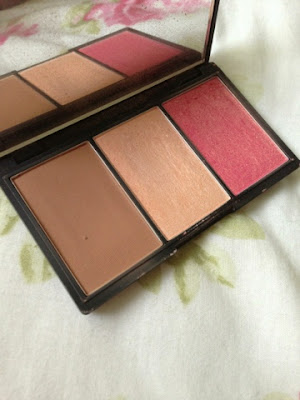 Sleek's 3 in 1 bronzer and highlight