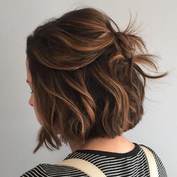 Cute Bob Haircuts For Curly Hair 2018 3