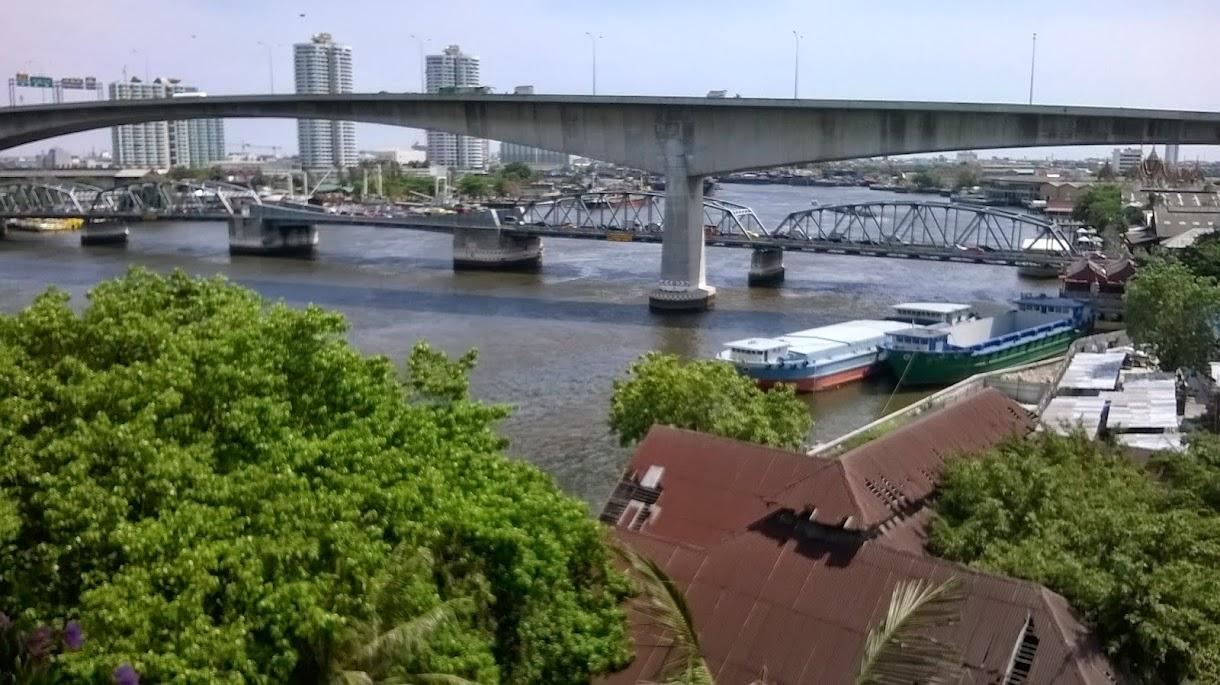 Bangkok: die Hotelzone am River
