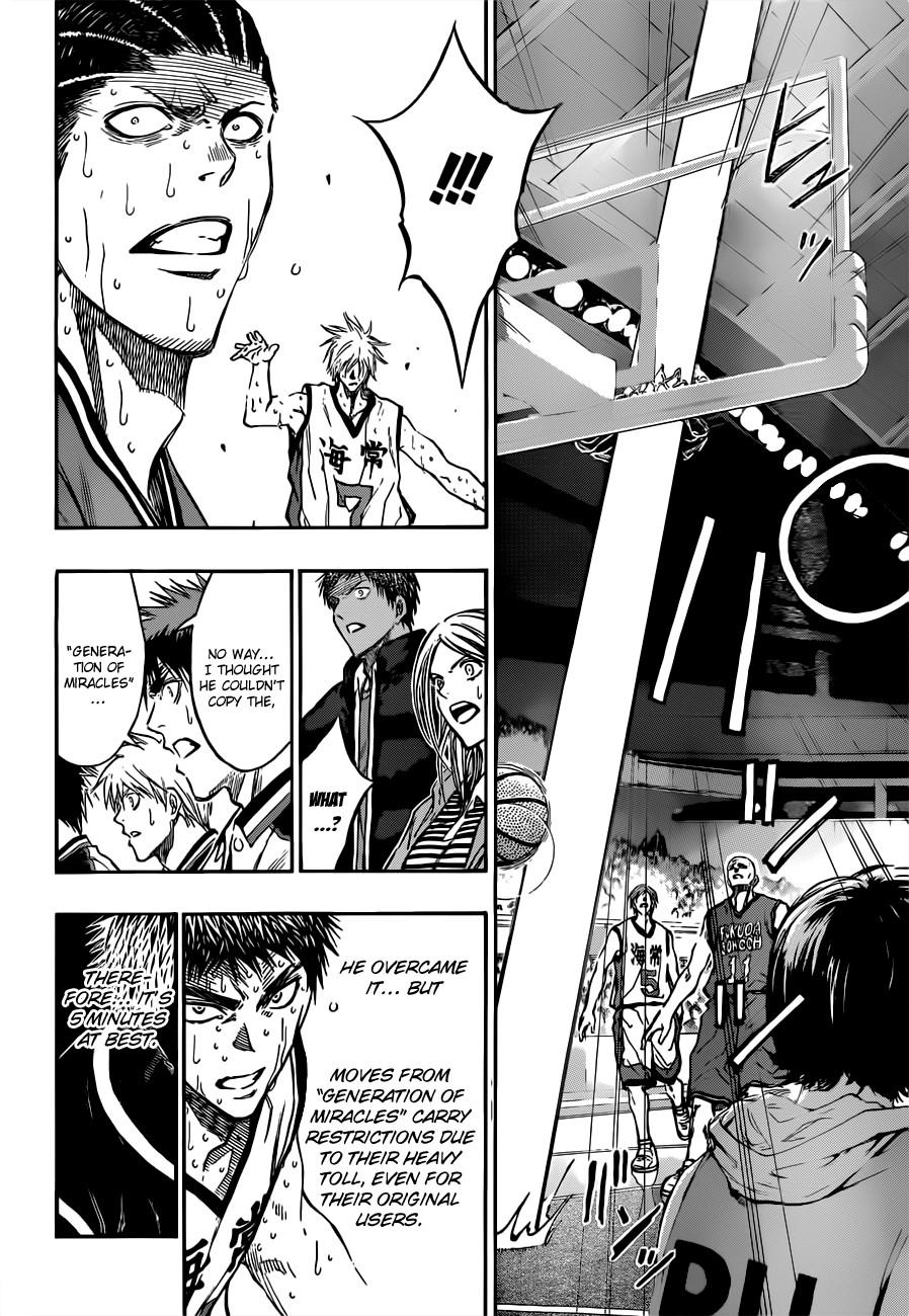 Kuroko no Basket Manga Chapter 172 - Image 18