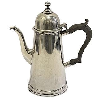 Sterling Silver Espresso Pot