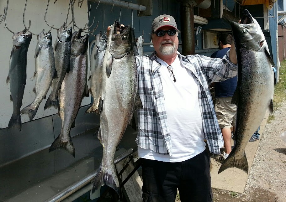 Lake Michigan Salmon Fishing Charters