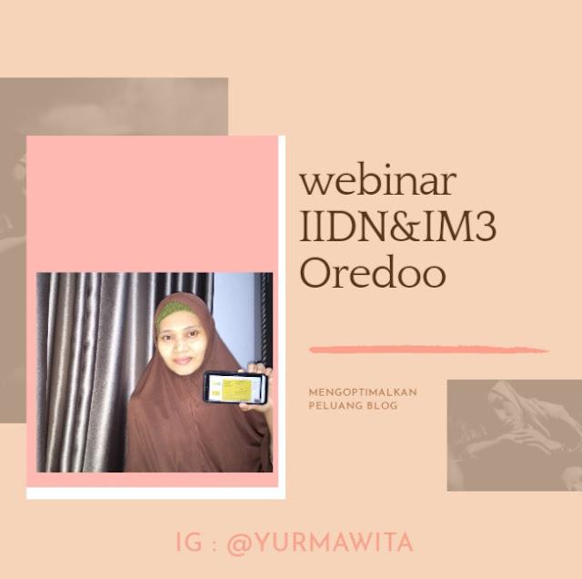 webinar IIDN x IM3 Oredoo