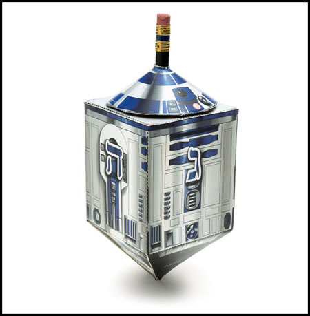 Star Wars Droidel Papercraft