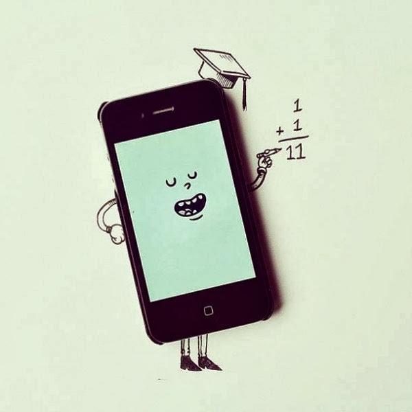 #Alex Solis善用實體與自己的平面插畫:手指忍者龜! 16