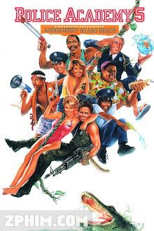 Học Viện Cảnh Sát 5 - Police Academy 5: Assignment: Miami Beach (1988) Poster