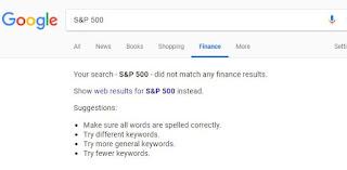 Googlefinance symbol for S&P 500 - Google Product Forums