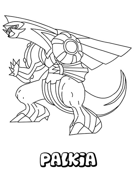 Palkia Pokemon Coloring Page This Palkia Pokemon Coloring Page Is Very  Popular Among The Hellokids Fans New Coloring Pages Added All The Time To  Water