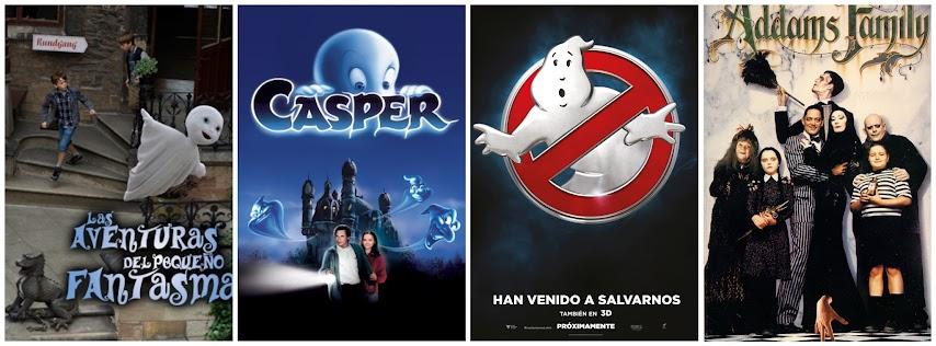 Las aventuras de pequeño fantasma, Casper, los cazafantasmas, la familia Addams
