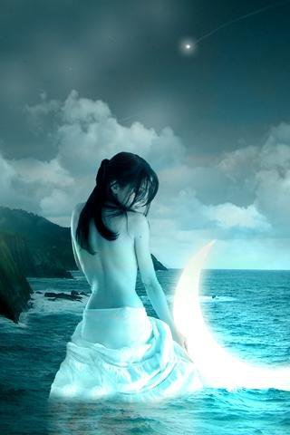 Magic Soul In Moony Waters, Moon Magic