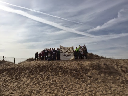Fred's Redcar Coatham Dune Complaint and petition