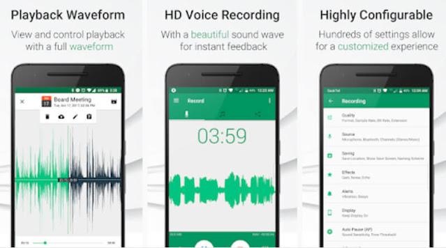 Parrot Voice Recorder تسجيل الصوت بجودة عالية