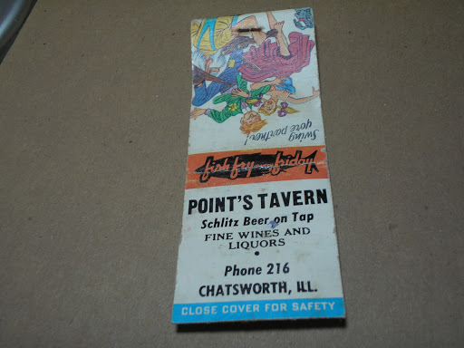 Point's Tavern Chatsworth, Il.