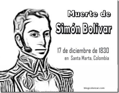 simon bolivar muerte 1