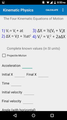 Kinematic Physics