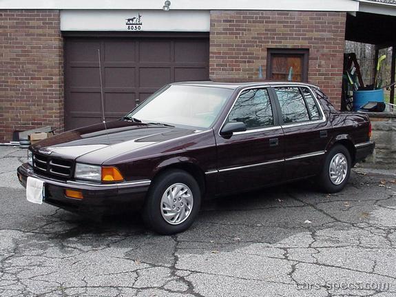 1993 Dodge Spirit Sedan Specifications, Pictures, Prices