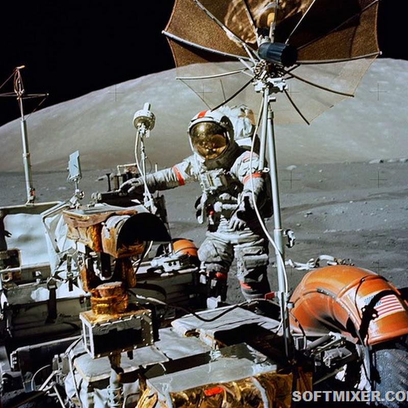 Вещи, которые астронавты брали на Луну