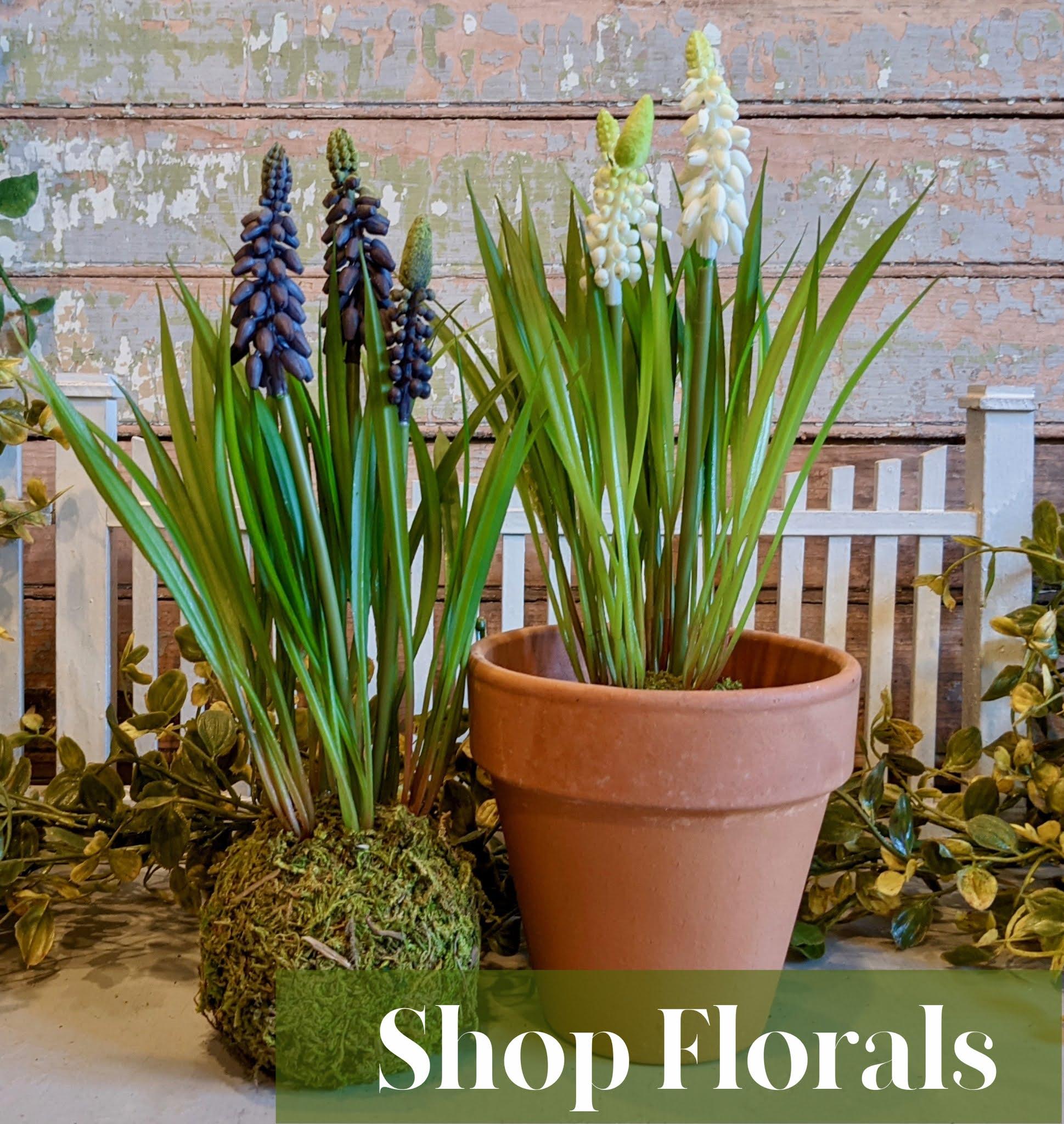 Shop our Farmhouse Florals Collection