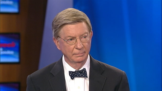 Conservative George Will describes reasons for leaving GOP
