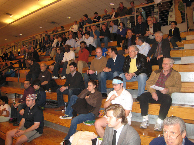 Onlookers at the 2012 singles finals matches