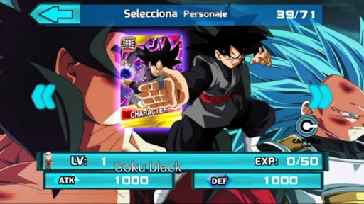 DOWNLOAD!! NOVA ATUALIZAÇÃO (MOD) DRAGON BALL TAP BATTLE PARA CELULARES ANDROID 71 PERSONAGENS