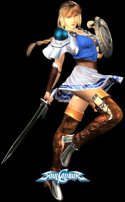 Sophitia 1, Warrior Girls 1