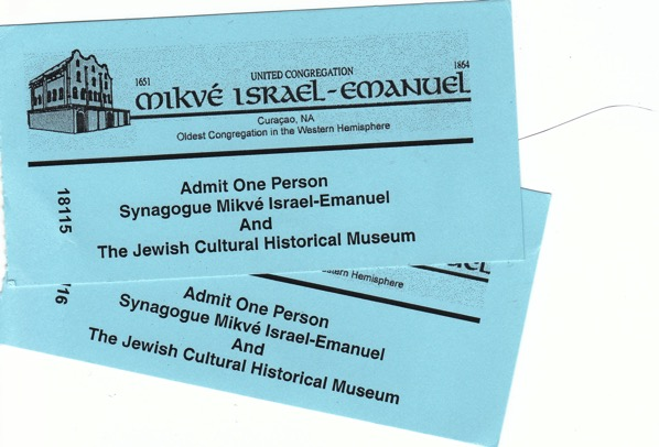 Synagogue Tickets