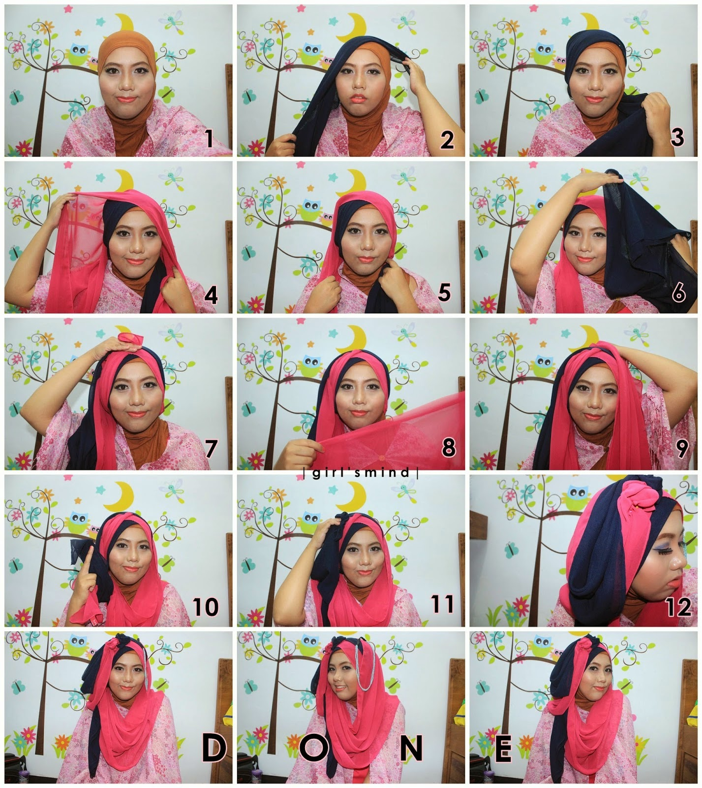 Tutorial Hijab Ke Pesta Natasha Farani Blog Video Tutorial