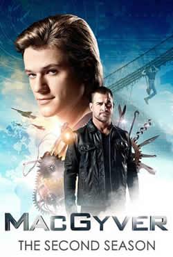 Capa MacGyver 2ª Temporada Torrent