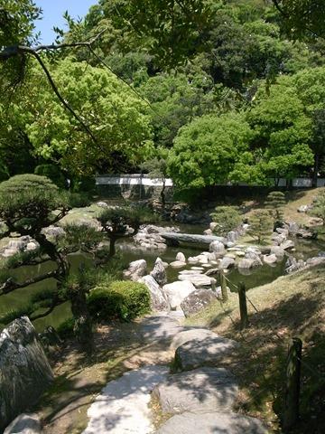 徳島城博物館庭きれい感想