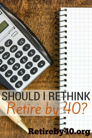 Should I rethink early retirement?