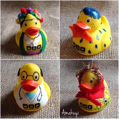 Patos-de-goma-disfrazados-personajes