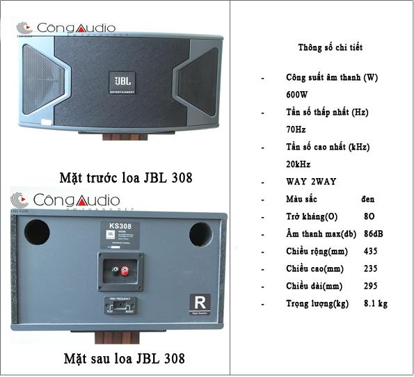 lOA JBL 308