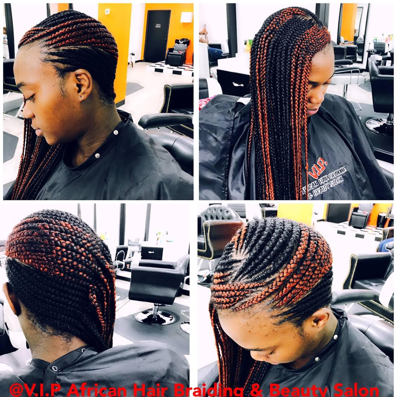 V I P African Hair Braiding Amp Beauty Salon Hair Salon In