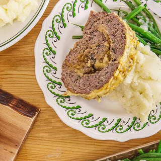 Rachael's French Onion Rolled Meatloaf.