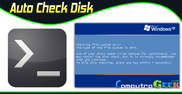 Auto Check Disk