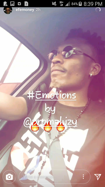 """JTE Gist: Popular Nigerian Rapper & Ex BBN Naija Winner """"EFE"""" Vibes to Promphizy's New Song 'Emotions'"""