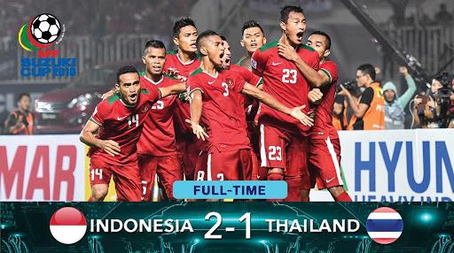 Skor Final Leg Pertama Indonesia vs Thailand Piala AFF Suzuki 2016