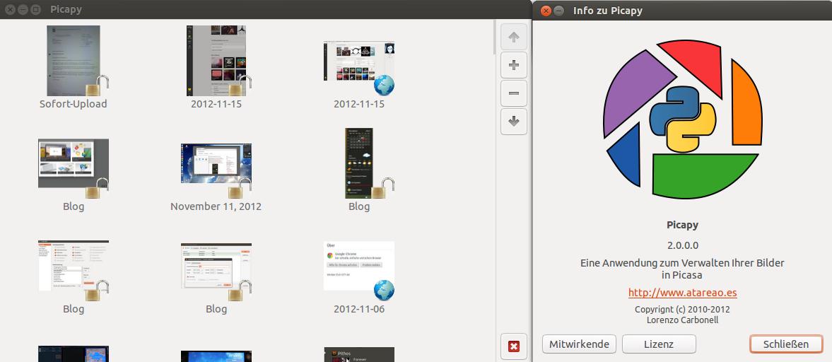 Picapy unter Ubuntu