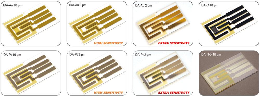 IDA electrodes
